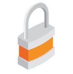 Lock-Orange-Icon